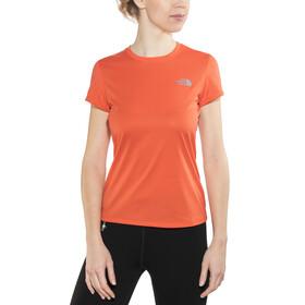 The North Face Reaxion Ampere - T-shirt course à pied Femme - orange